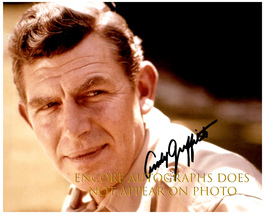 ANDY GRIFFITH  Authentic Original  SIGNED AUTOGRAPHED PHOTO w/ COA 494 - $105.00