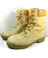 Land Rover Waterproof -20°F Leather Work Boots Tan Ankle Shoes Size 9 US... - $29.65