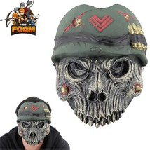 Military Army Skull Mask For Cosplay Halloween Masquerade War Monster - £11.49 GBP