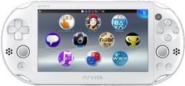 New Sony PS VITA Console Wi-Fi White PCH-2000ZA12 Japan F/S  W01 - $248.76
