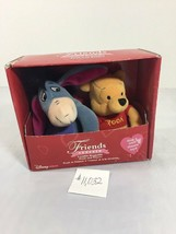 New Disney Friends Forever Lovable Huggable Pooh and Eeyore Set    21 - $21.78