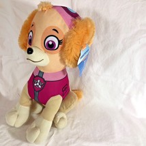 New Skye Spinmaster Spin Master Plush Pink Dog Paw Patrol Character Stuffed Toy - $18.49