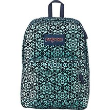 JanSport High Stakes Backpack - Aqua Dash Moroccan Flock - $40.25