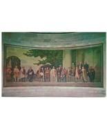 Postcard - The National Archives - Barry Faulkner Mural, James Madison, ... - $10.84