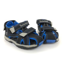 Timberland Toddler's Mad River Closed Toe Black/Royal Blue Sandals 43896 - $39.99