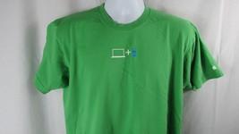 Apple employee XL t shirt Apple student Mac ipod green Men women unisex US made - $7.91