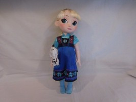 """Disney Store AUTHENTIC Frozen 16"""" Animator Collection Elsa Doll with Olaf - $13.02"""