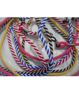 Ripple Candy Cane Styles Colored Handmade Nylon Colored Straps Sunglasse... - $12.99