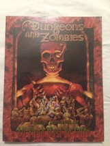 All Flesh Must Be Eaten RPG Dungeons and Zombies Soft Cover by Eden Studios - $50.99
