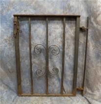 Metal Gate Fence Decorative Architectural Salvage Gothic Garden Art Vintage - $149.00