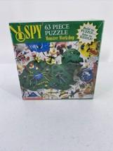 I SPY MONSTER WORKSHOP Puzzle 63 Piece Children's Dinosaur Riddle - $9.49