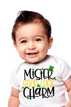 Mr Good Luck Charm Children's T-Shirt, St. Patricks Day Good Luck Charm Romper - $9.99+