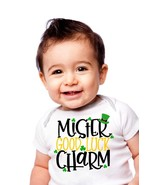 Mr Good Luck Charm Children's T-Shirt, St. Patricks Day Good Luck Charm ... - $9.99+