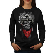 Gorilla Solider Fashion Jumper  Women Sweatshirt - $18.99