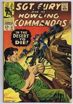 Sgt Fury and His Howling Commandos #37 ORIGINAL Vintage 1966 Marvel Comics - $14.84