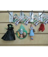 Set of 4 - WIZARD of OZ Ornaments - Witch, Dorothy, Four Friends Plaque ... - €18,33 EUR