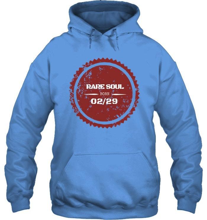 February 29 Birthday Hoodie Born 0229 Hoodie Leap Year Tee