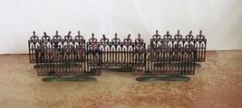 Dept 56 The Original Halloween Spooky Wrought Iron Fence #52982 NIB (Y70) - £22.05 GBP