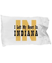 Unique Gifts Store Heart In Indiana - Pillow Case - $17.97