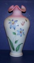 FENTON ART GLASS HONOR COLLECTION BLUE BURMESE PURPLE PASSION ROBINSON 1... - $173.24