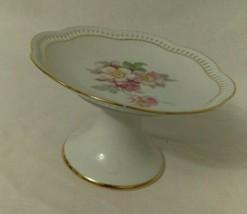 Bavaria Schumann Flowers Pedestal Dish  - $33.86