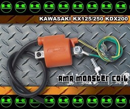 Kawasaki KDX200 87-94 ignition Monster Coil aftermarket kdx part by AMRRACING  - $66.28