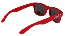 Osiris Skateboarding De Las Locs Red/Blue/Chrome adventurer traveler Sunglasses image 3