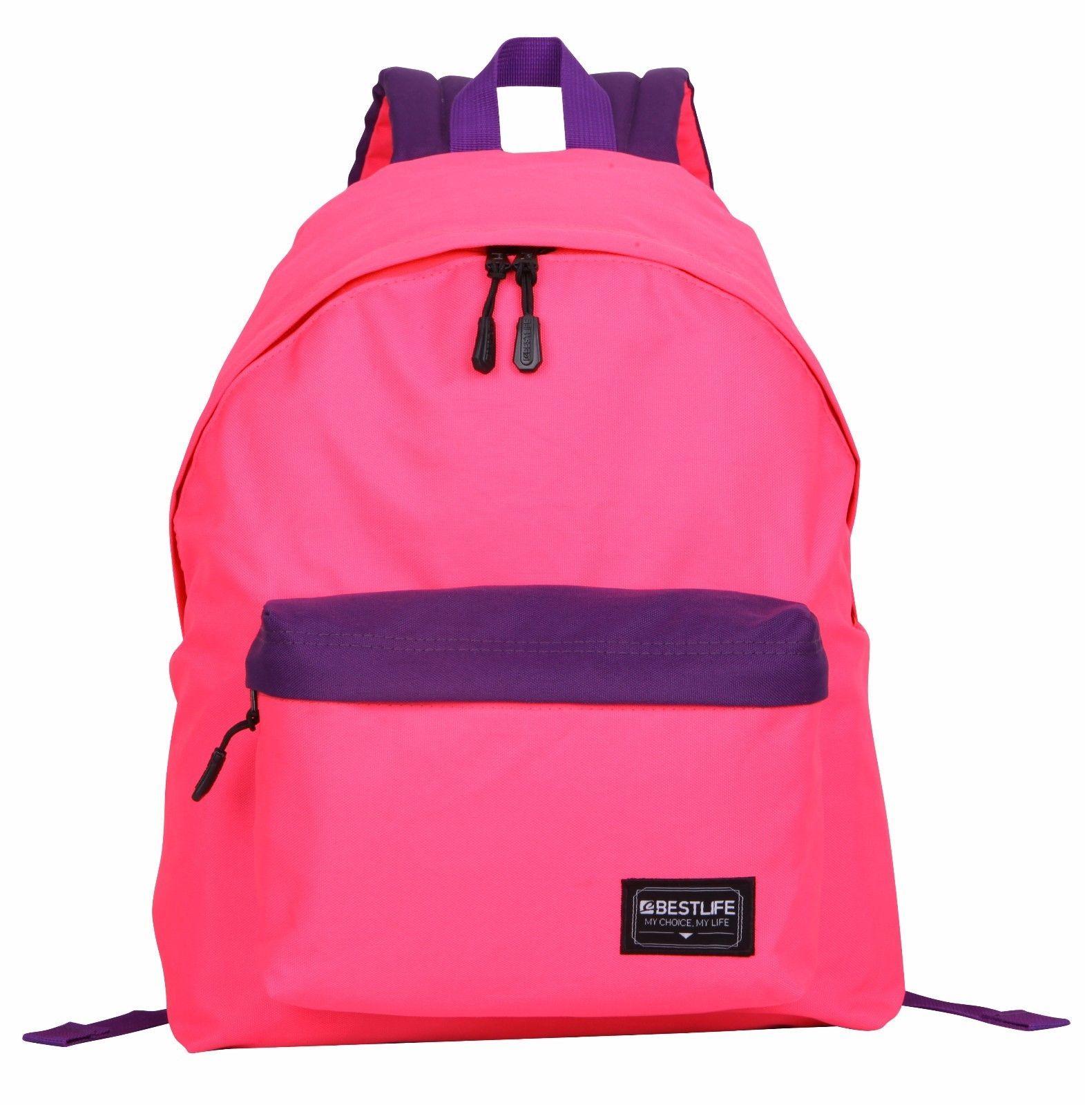 BESTLIFE Stylish Casual Multipurpose Water-Repellent Light Backpack School Bag