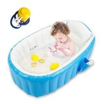Baby Inflatable Bathtub, Goodking Portable Infant Toddler Bathing Tub No... - $56.99