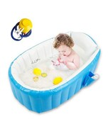 Baby Inflatable Bathtub, Goodking Portable Infant Toddler Bathing Tub No... - $56.99