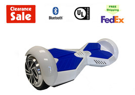 """Lambo Hoverboard Bluetooth Speaker Self Balance Scooter 6.5"""" White Free ... - $99.00"""
