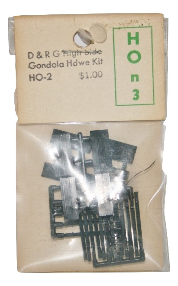 Grant Line D & R G High Side Gondola Kit HOn3
