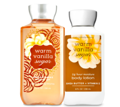 Bath & Body Works Warm Vanilla Sugar Body Lotion + Shower Gel Duo Set - $26.41