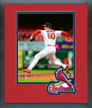 John Brebbia 2018 St. Louis Cardinals -11x14 Team Logo Matted/Framed Photo - $43.95