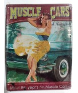 Muscle Cars & Fast Girls Meet This Year's Ms. Muscle Car Metal Sign New ... - $15.83