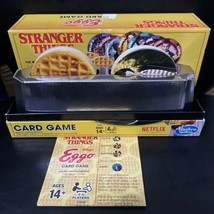 Stranger Things Kelloggs Eggo Card Game Hasbro 2017 Complete - $14.75