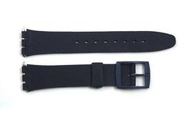 12mm Femmes Bleu Foncé Remplacement Bracelet de Montre Compatible avec Swatch - $7.47