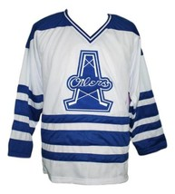 Custom Name # Tulsa Oilers Retro Hockey Jersey New White Any Size image 1