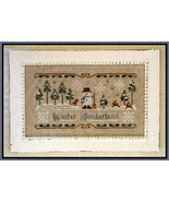 Winter Wonderland cross stitch chart Little House Needleworks - $7.65