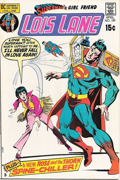 Superman's Girlfriend Lois Lane Comic Book #109, DC Comics 1971 VERY FINE