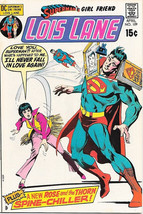 Superman's Girlfriend Lois Lane Comic Book #109, DC Comics 1971 VERY FINE - $24.11