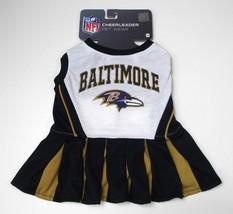 "Pets First NFL Baltimore Ravens Cheerleader Dress, Medium 14""-18"" - $12.99"
