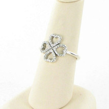 Authentic Pandora 190978CZ-54 Petals of Love Sterling Silver Ring Sz 7 N... - $48.49