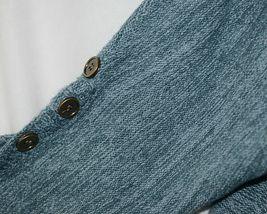 Simply Noelle Brand JCKT222Z Womens Misty Blue Zippered Sweater Jacket Size XXL image 3