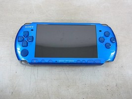 PSP Playstation Portable Vibrant Blue PSP - 3000 VB Only Console Used - $80.98