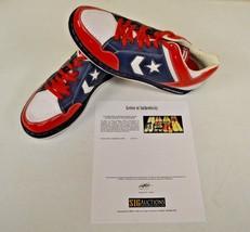 Converse Weapon Basketball Puerto Rico 14 DWAYNE WADE Personal Shoes w COA #7 - $346.49