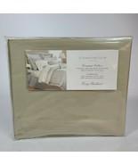 Charter Club Florentine KING Bedskirt Vintage Country Green Gossamer Bed... - $49.49