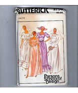 70s Butterick Sewing Pattern 3700 Bridal Bridesmaid Gown Dress 14 - $12.38