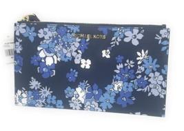 Michael Kors Navy Blue Floral Wristlet - $79.20