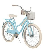 """Girl's Classic Cruiser Bike 24"""" Perfect Fit Steel Frame Comfort Ride, Cl... - $235.15"""